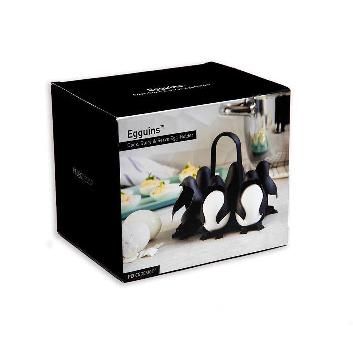 Voici le «Egguins», l'invention géniale pour la cuisine qui rend la cuisson des oeufs facile et amusante