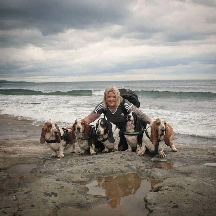 Une propriétaire de chien est morte de honte quand son animal a refusé de lâcher le gode trouvé lors d'une promenade