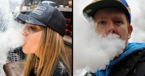 Une cinquième personne est morte d'une maladie liée au vapotage alors que 450 personnes de plus souffrent de graves problèmes pulmonaires