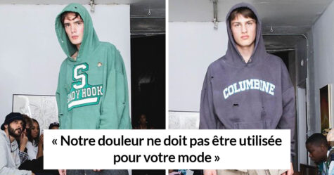 Une marque de mode a présenté des sweats avec des trous de balle sur le thème des fusillades de masse et a été confrontée à une réaction brutale