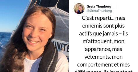 Greta Thunberg vient de démolir ses critiques dans un fil viral sur Twitter