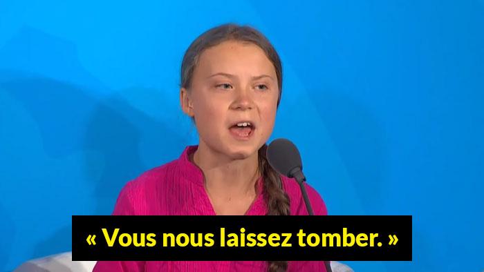 Trump s'est moqué du discours de Greta Thunberg, alors elle lui a fait un clin d'oeil dans sa bio Twitter
