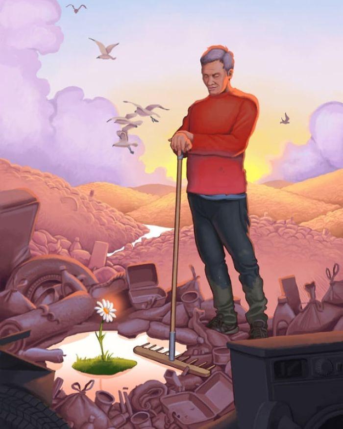 22 illustrations qui montrent ce qui ne va pas dans notre monde