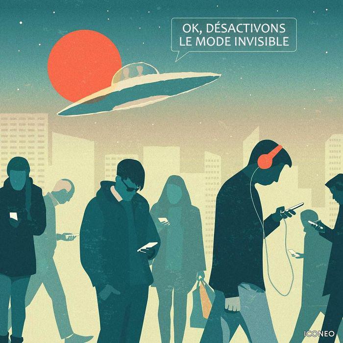 Cet artiste met en lumière les problèmes de notre société à travers ces 22 illustrations