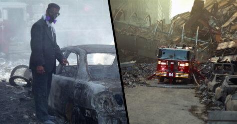 18 photos inédites du 11 septembre dévoilées par le premier médecin arrivé sur les lieux de la tragédie