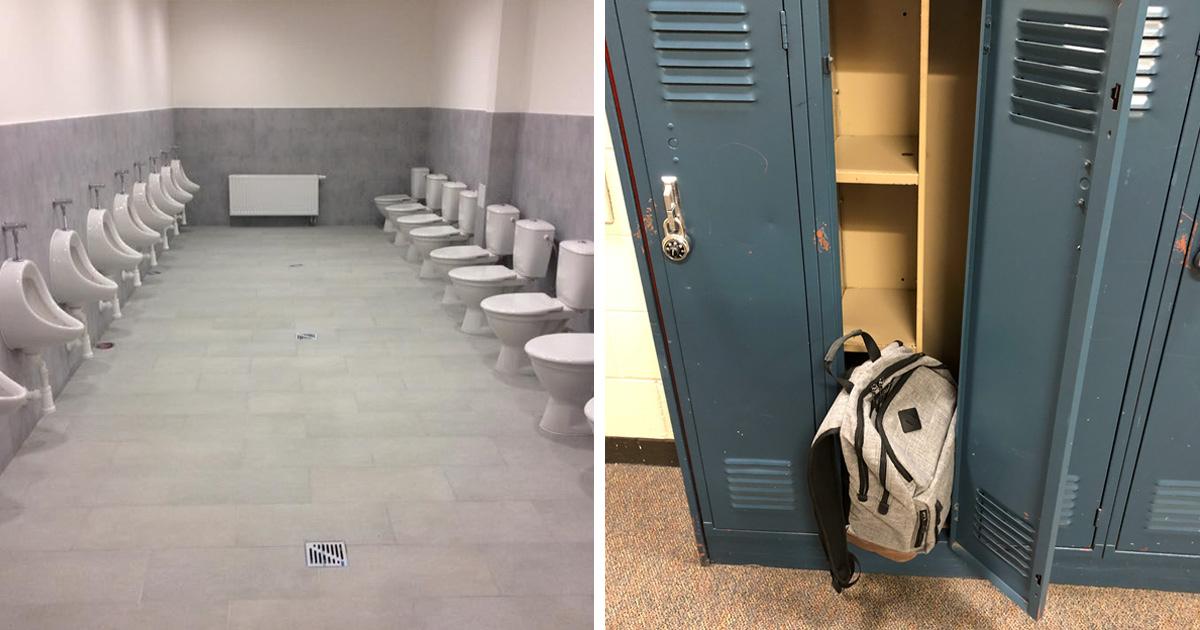 22 fois où des élèves ont eu honte de leurs écoles à cause de leurs designs horribles