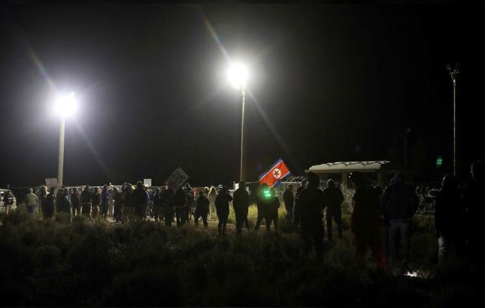 Des gens sont en direct de la zone 51 et voici à quoi ça ressemble