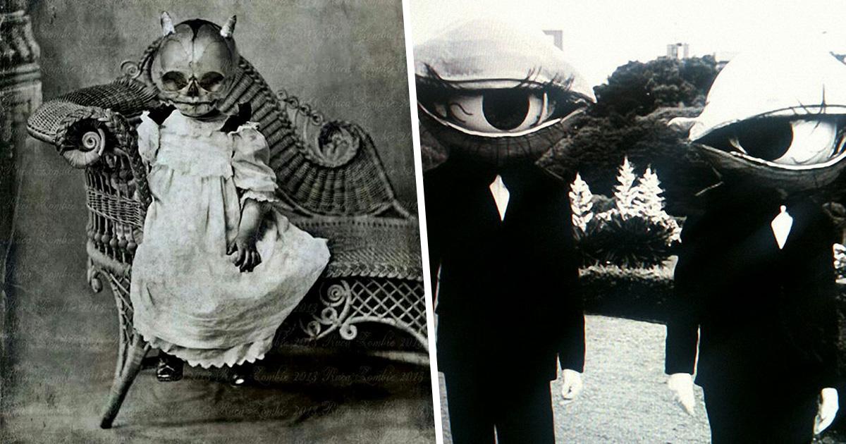 33 costumes d'Halloween vintage qui vont te faire mourir de peur