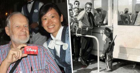 Le tout premier client de Disneyland utilise son billet à vie chaque année depuis 1955