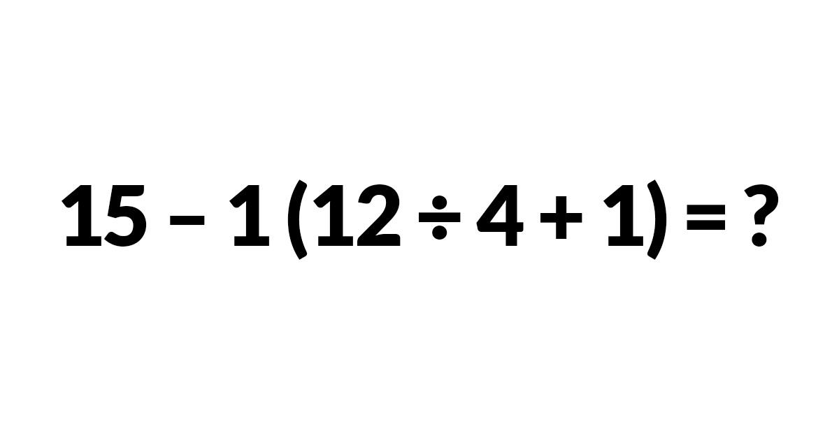 Cette équation de maths divise les internautes, car personne ne peut s'entendre sur la réponse