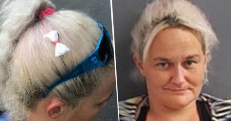 Cette femme s'est fait attraper vendant de la méthamphétamine dans des sacs camouflés en boucles pour les cheveux
