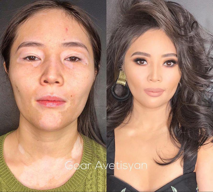 Cette maquilleuse donne aux femmes leur relooking de rêve et ses transformations sont à couper le souffle (17 images)