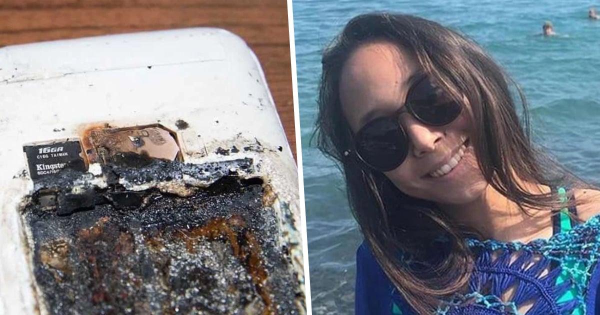 Une fille a été tuée dans son sommeil par un téléphone en charge qui a explosé sur son oreiller