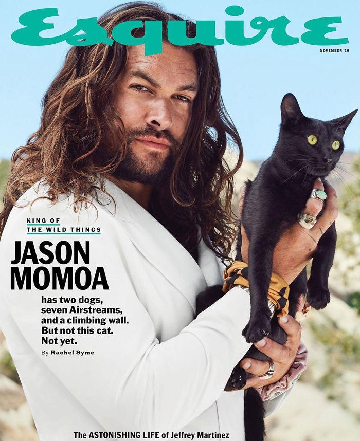 Les nouvelles photos de Jason Momoa pour un magazine sont si bonnes qu'elles ont obtenu 1,2 million de likes en moins de 24 heures