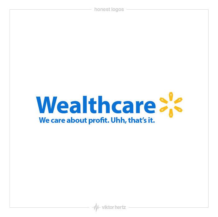 28 logos honnêtes qui montrent la vérité sur les entreprises célèbres