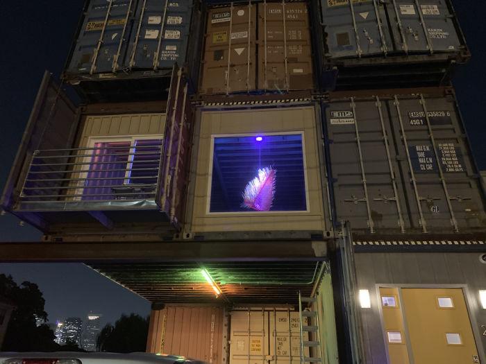 Cet homme a utilisé 11 conteneurs pour construire sa maison de rêve de 232 mètres carrés