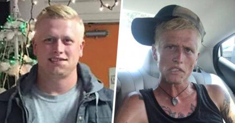 Une mère a partagé des photos de son fils qui montrent ce que la dépendance à l'héroïne et à la méthamphétamine peut faire en 7 mois