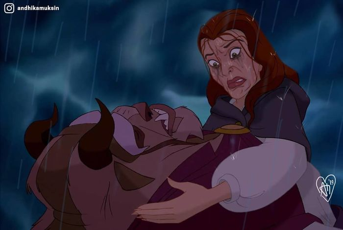 Cet artiste réinvente les princesses Disney d'une manière plus réaliste (24 nouvelles images)
