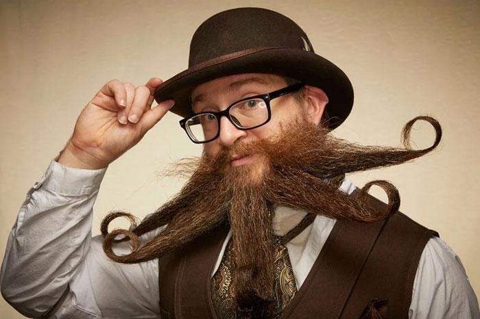 Le championnat de barbes et moustaches 2019 en 30 images