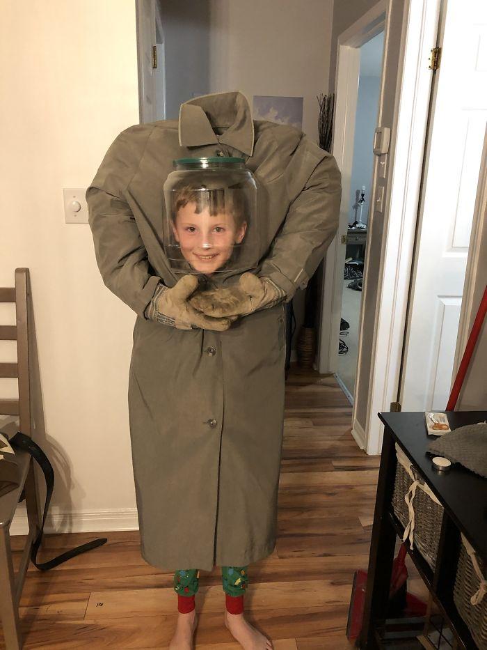 33 enfants qui ont «gagné» l'Halloween