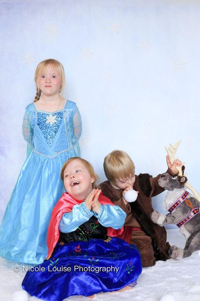 Des enfants trisomiques se sont déguisés en personnages de Disney pour une campagne de sensibilisation magnifique (20 images)