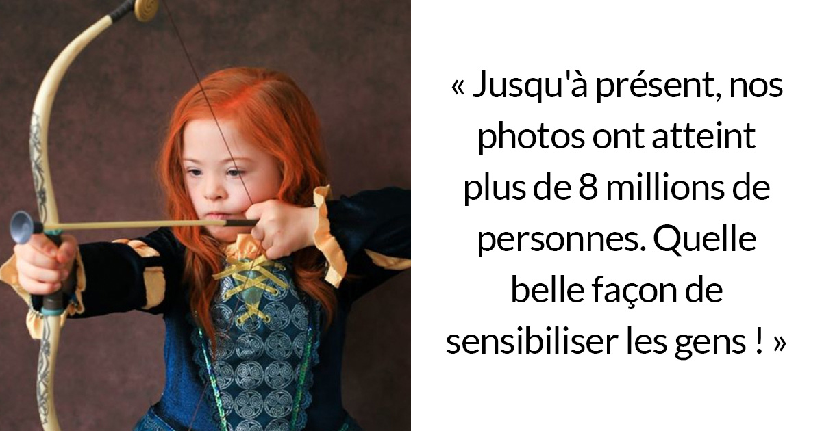 Des enfants trisomiques ont posé en tant que personnages de Disney pour une campagne de sensibilisation magnifique (20 images)