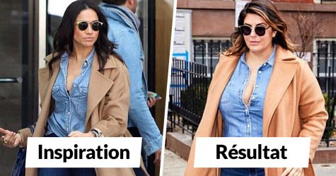 Cette femme s'habille comme des célébrités pour montrer que tu n'as pas besoin d'être maigre pour bien paraître (30 images)
