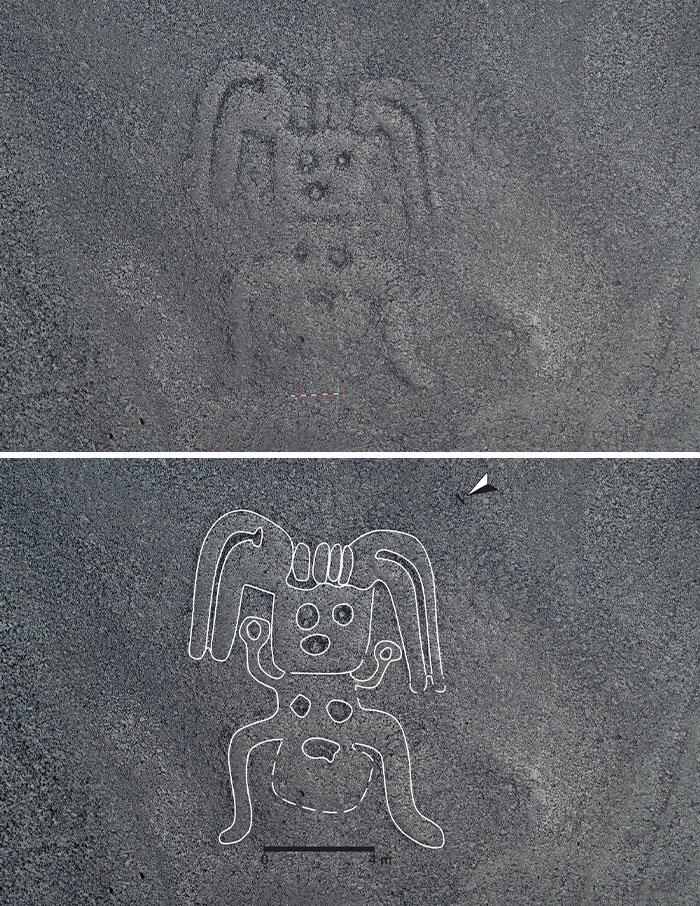 Des scientifiques ont découvert 140 énormes dessins mystérieux au Pérou