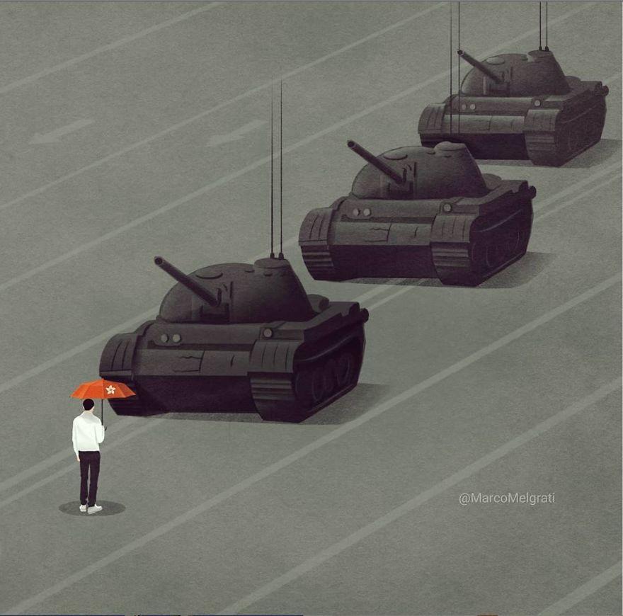 J'illustre la triste vérité de la vie moderne (23 images)