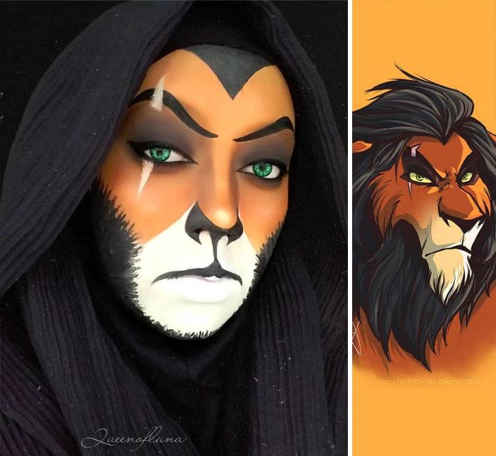 Cette femme utilise son hijab pour se transformer en personnages de la culture pop (22 nouvelles images)