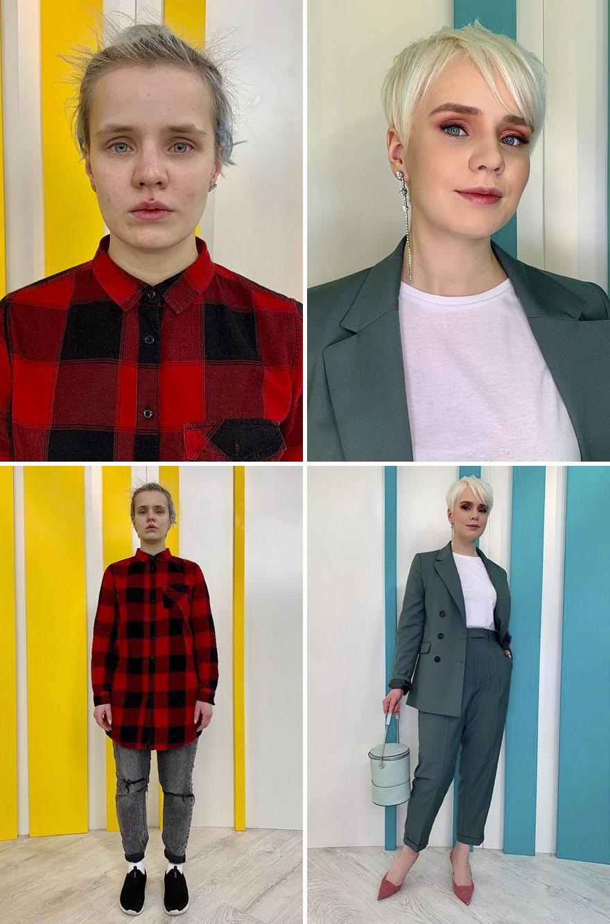 22 photos avant et après de personnes transformées par Alexandr Rogov