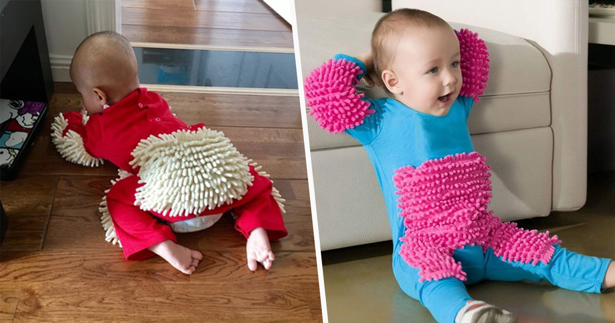 Tu peux acheter un pyjama-vadrouille pour bébés sur Amazon, mais les gens ne savent pas trop quoi en penser
