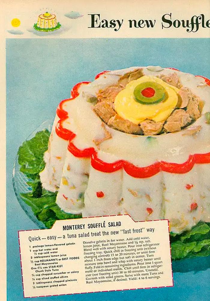 22 recettes du passé qui montrent comment tout a évolué, même nos goûts