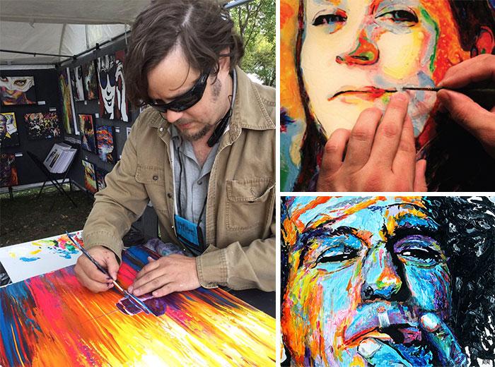 On ne peut pas croire ce que ces 22 artistes peuvent faire grâce à leurs handicaps