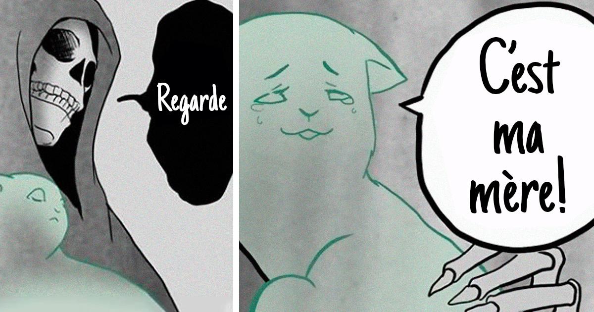 L'artiste qui a fait pleurer les gens avec sa bande dessinée sur un chat noir vient de publier la suite