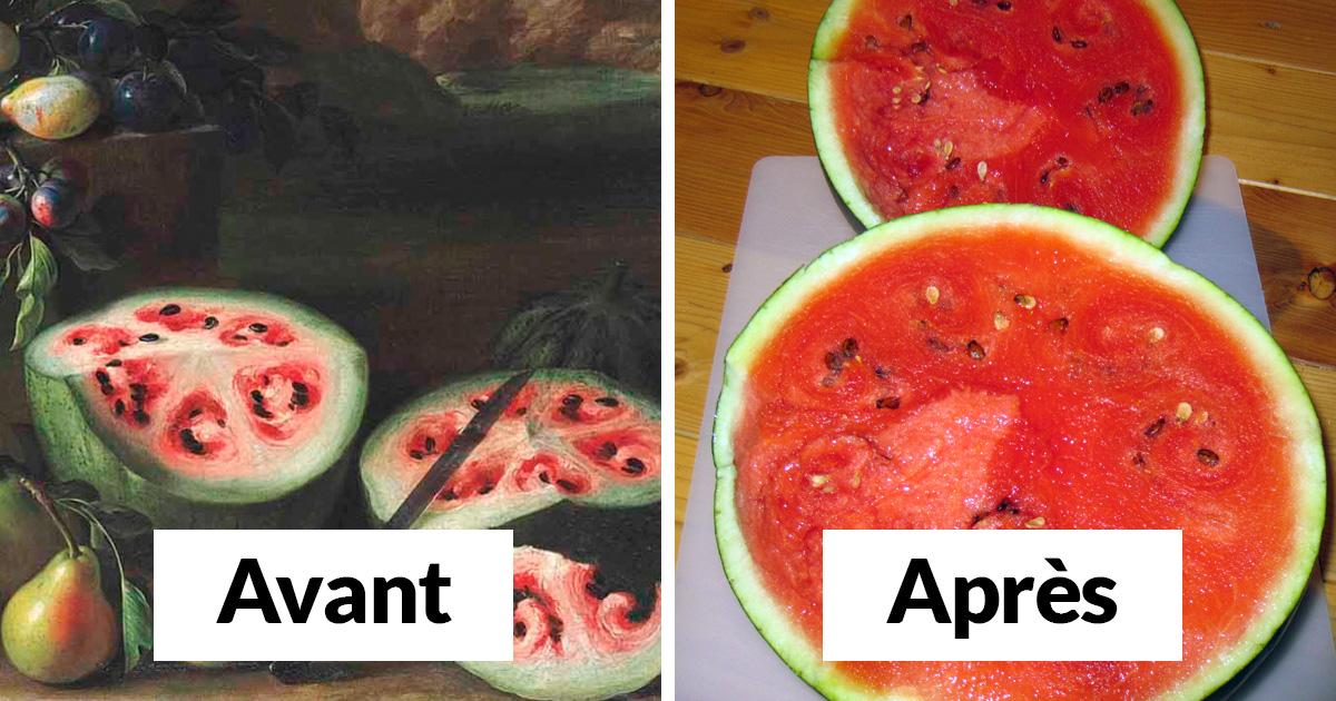 Voici 8 images de fruits et légumes avant qu'ils ne soient domestiqués par les humains