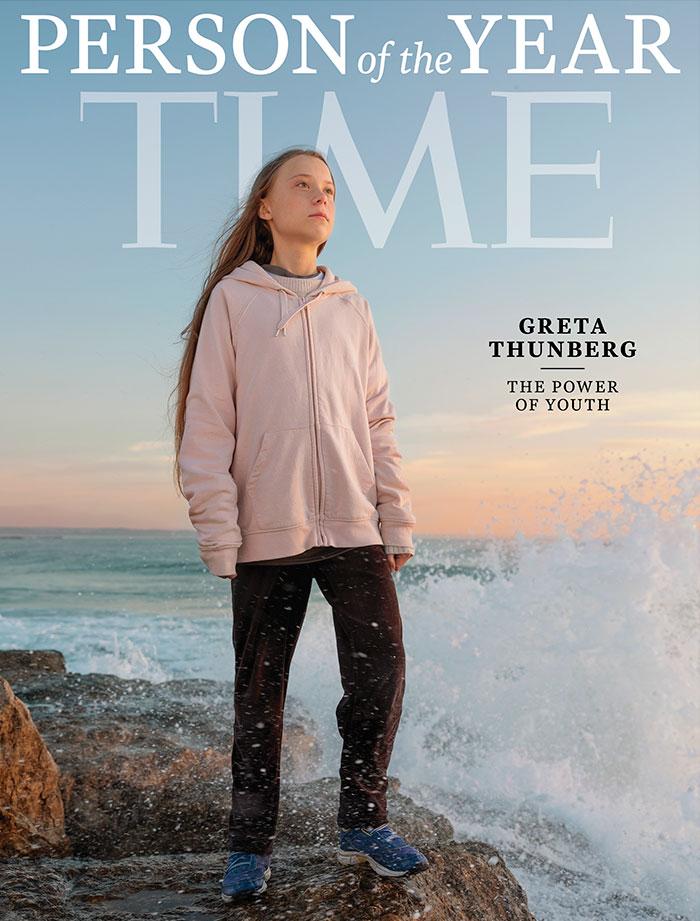 Trump s'est moqué de Greta Thunberg pour avoir été nommée personnalité de l'année selon TIME, alors elle a changé sa bio Twitter