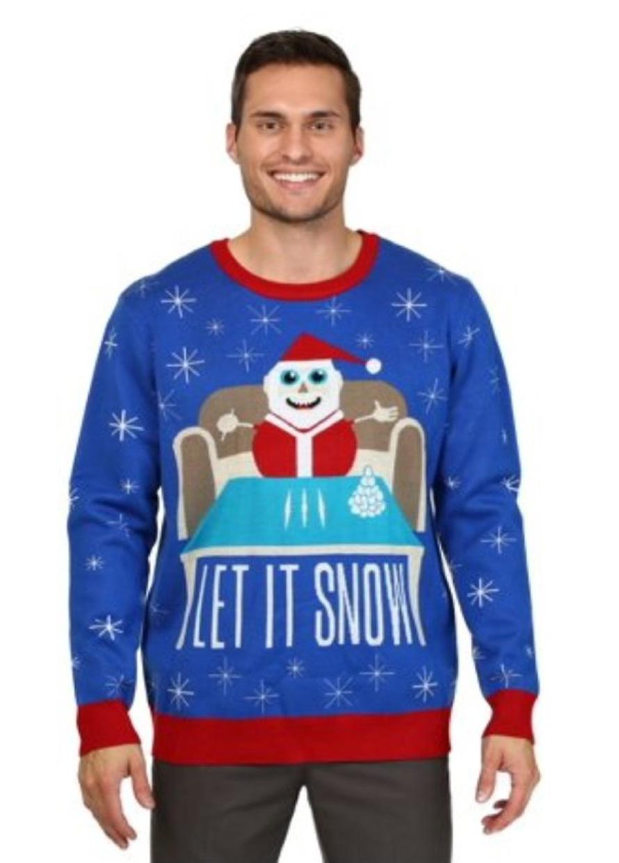 Walmart a présenté ses excuses pour ce pull avec un père Noël accro à la cocaïne