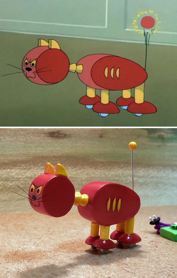 22 moments les plus regrettables de Tom et Jerry transformés en sculptures par un artiste japonais