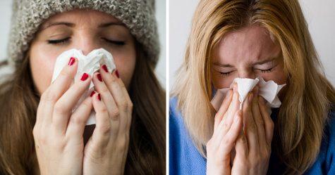 Les femmes avec de gros seins souffrent plus du rhume, selon une étude