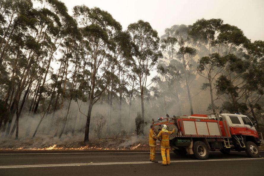 Des photos avant et après montrent l'impact dévastateur des feux de forêt sur l'île Kangourou en Australie