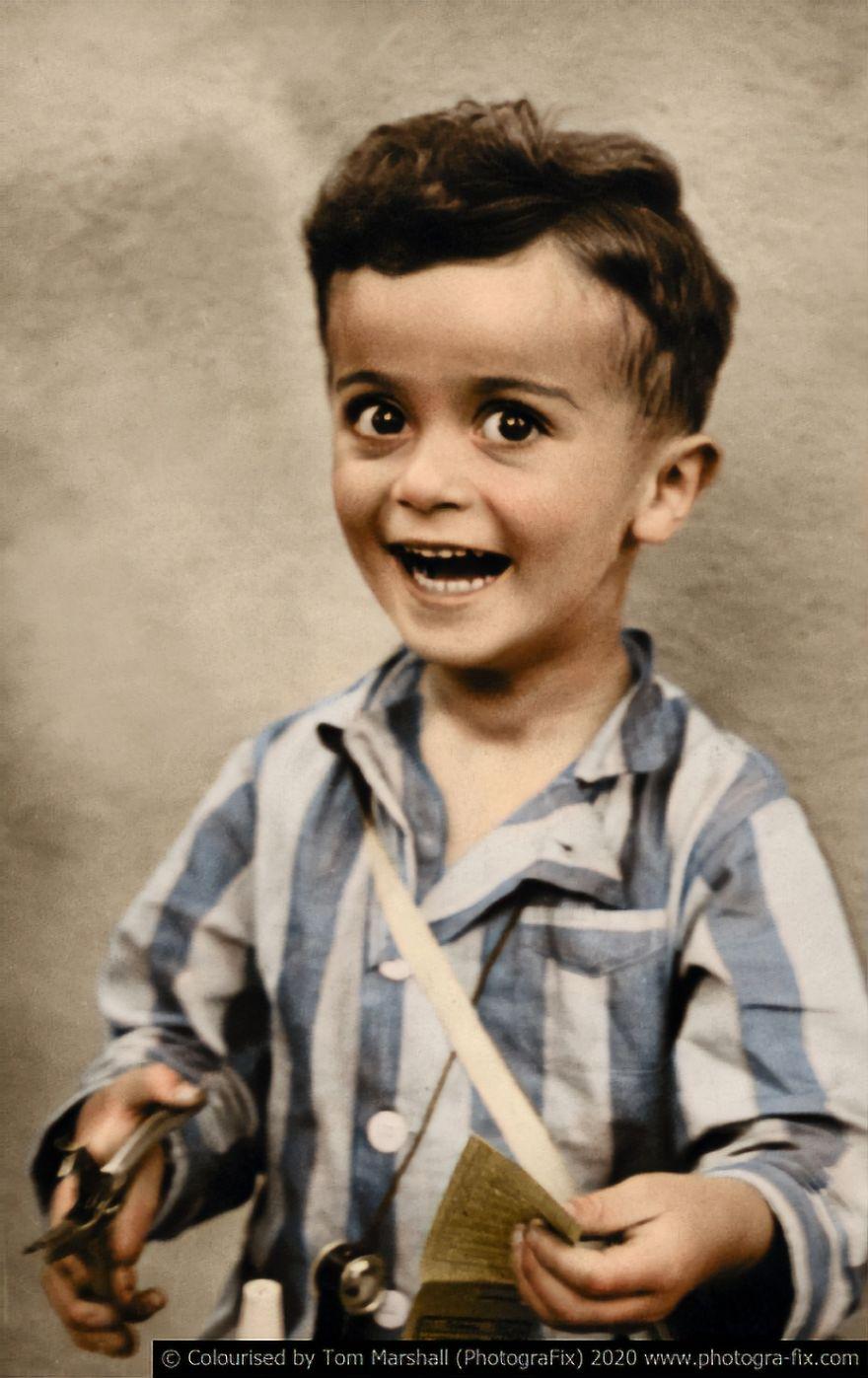 10 photos colorisées qui montrent la véritable horreur de l'Holocauste