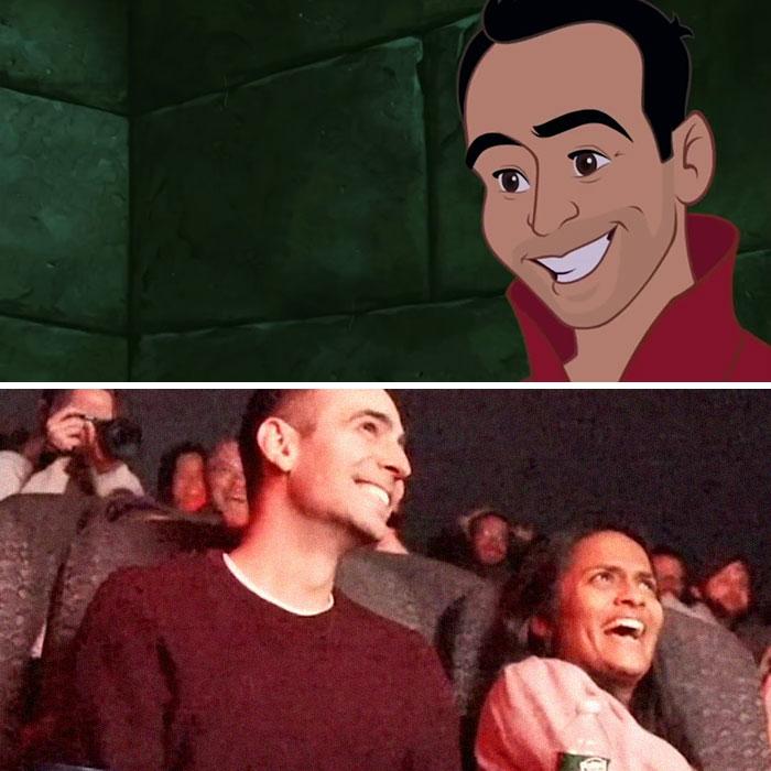 Cet homme a secrètement «piraté» le film Disney préféré de sa petite amie pour inclure une demande dans une salle de cinéma «bondée»