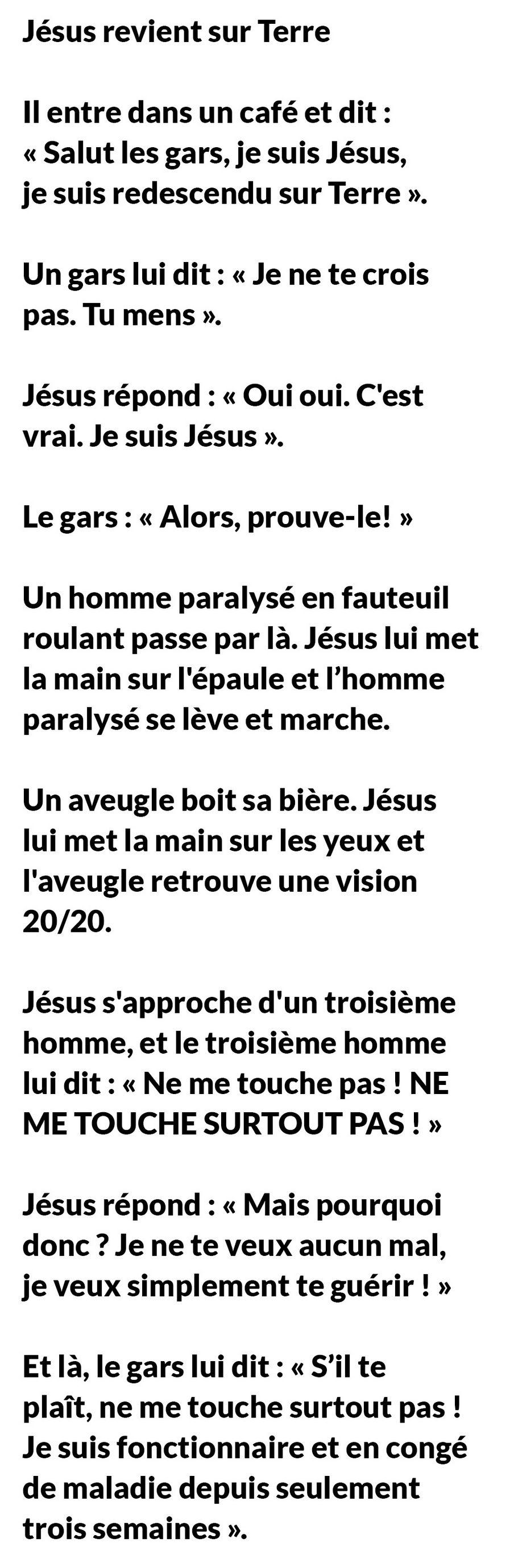 Jésus revient sur Terre