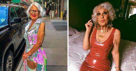Voici Baddie Winkle, une mamie élégante de 92 ans qui «vole ton homme depuis 1928»