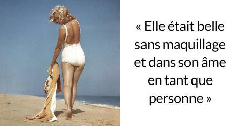 17 magnifiques photos de Marilyn Monroe à la plage en 1957