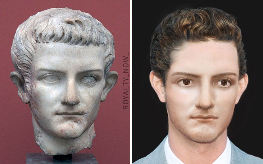 Voici à quoi ressembleraient Jules César et d'autres aujourd'hui (30 images)
