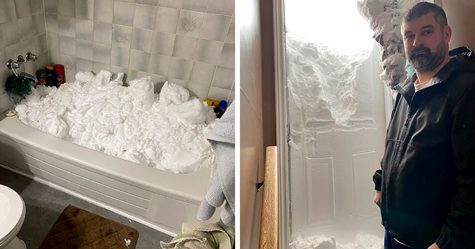 33 images qui montrent comment des Canadiens ont fait face à un blizzard sans précédent