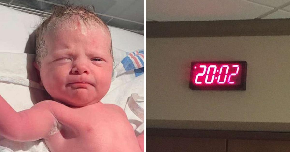Ce bébé est né à 20h02 le 02/02/2020 et fait désormais partie de l'histoire