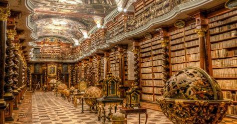 La plus belle bibliothèque du monde se trouve à Prague, en République tchèque (7 images)